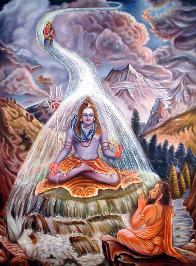 Io sono la via, la verità e la morte e il risorgere Ganga-devi